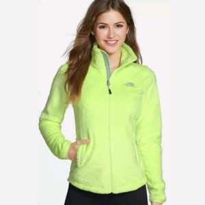 The North Face S SMALL Osito 2 Rave Green Jacket